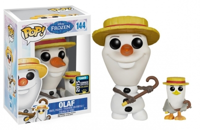 OLAF BARBERSHOP QUARTET SC 2015 FUNKO POP FROZEN